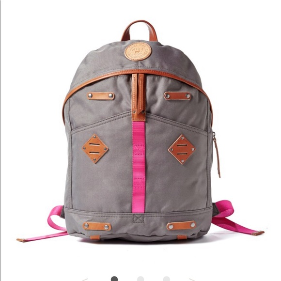 Give Will Handbags - Will Leather Grey Pink Bag Carry Dreams Backpack ad8b2e6318a4